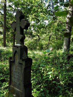 Jakub Sakowicz - Cmentarz prawosławny w Wyrykach-Adampolu (1)