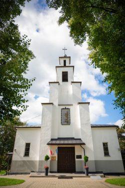 Monika Adamczyk - Kościół parafialny w Lubieniu
