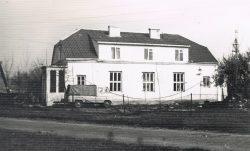 Biurowiec Rolniczej Spółdzielni Produkcyjnej w Krzywowierzbie - 1977 r.