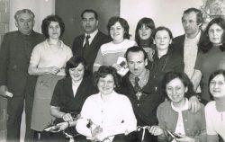 Dzień Kobiet w Urzędzie Gminy Wyryki - 08.03.1979 r.