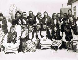 Koło Gospodyń Wiejskich w Wyrykach - 1980-1990 r.