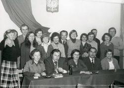 Ostatni dzień roku w Urzędzie Gminy Wyryki - 31.12.1979 r.
