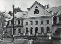 Pałac w Adampolu w latach 60