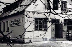 Sklep spożywczo-przemysłowy w Lipówce - 1980 r.