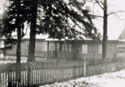 Stara plebania w Lubieniu -1950-1960 r. (1)