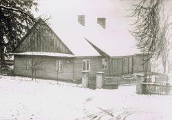 Stara plebania w Lubieniu -1950-1960 r. (2)