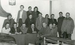Zebranie sprawozdawcze jednostki OSP w Wyrykach - 1979 r.
