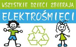 Logo Wszystkie dzieci zbierają elektrośmieci