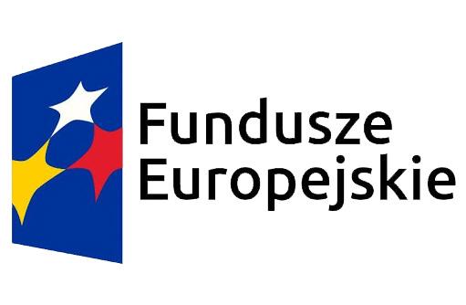 """Grafika przedstawia logotyp """"Fundusze Europejskie"""""""