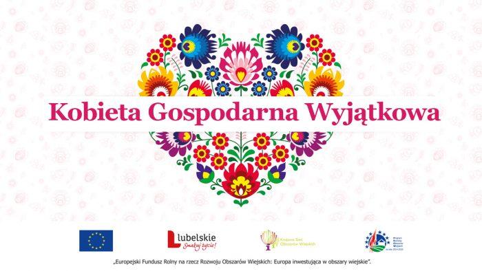 Banner zawiera logo konkursu Kobieta Gospodarna Wyjątkowa 2021