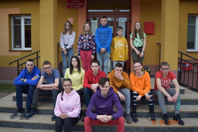 Dzieci z Placówki Opiekuńczo Wychowawczej KAMYK we Włodawie