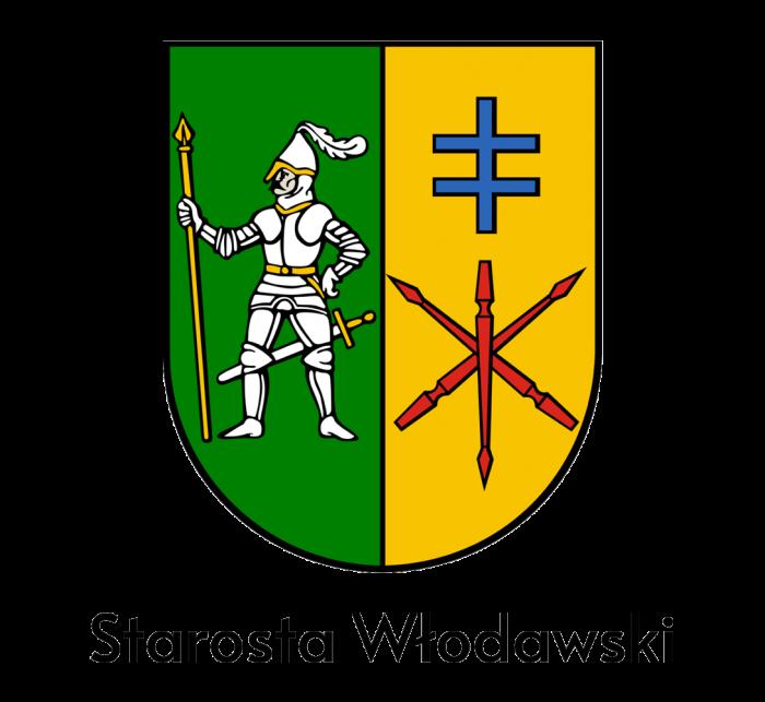 Herb Powiatu Włodawskiego z opisem Starosta Włodawski